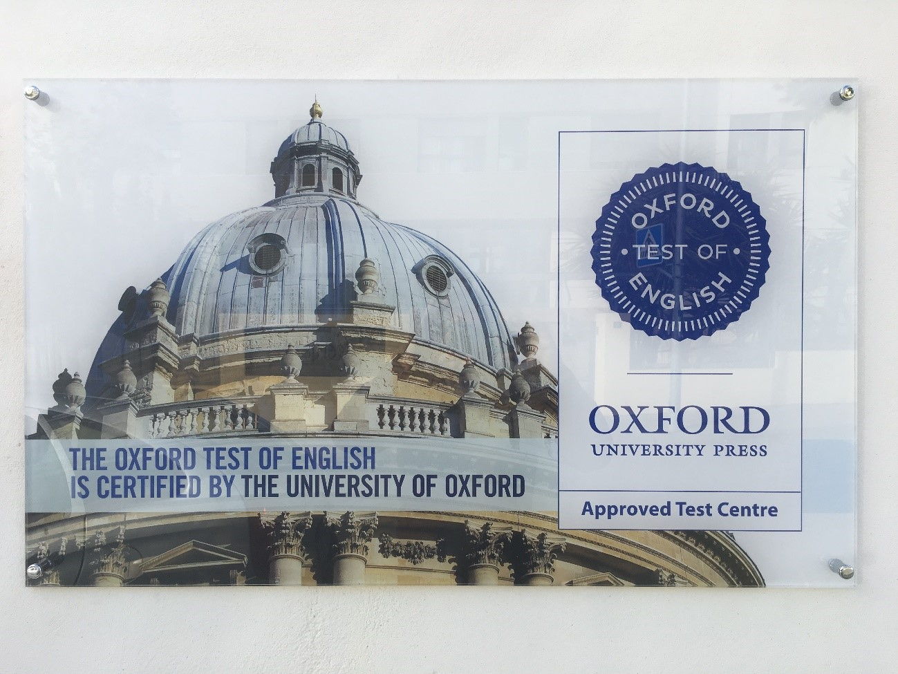The Oxford Test of English